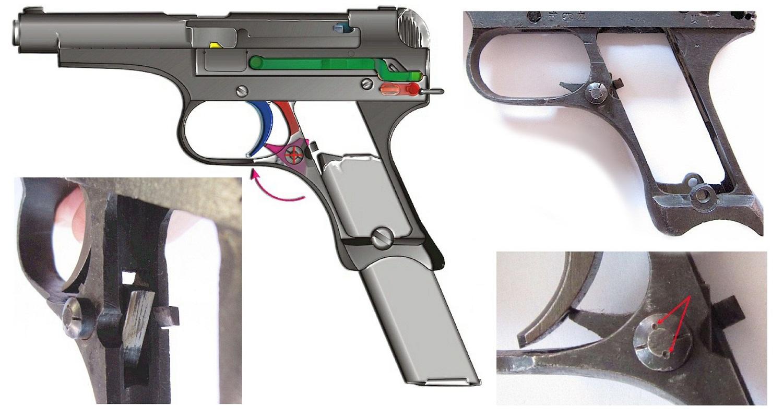 Японский пистолет Намбу 94