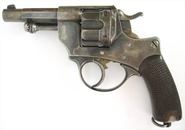 Французский револьвер Chamelot - Delvigne образца 1874 года