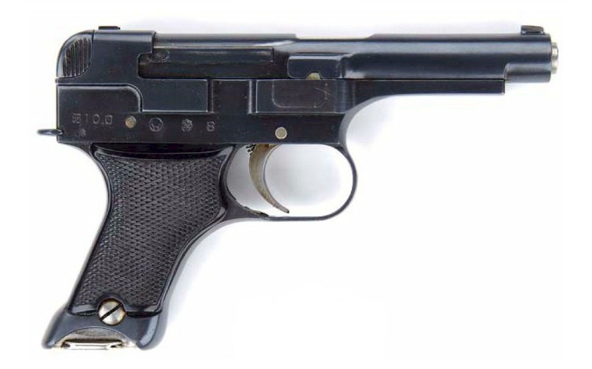 Japanese Nambu Type 94 Pistol early variation