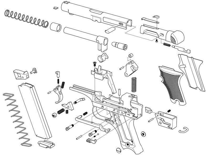 Japanese Nambu Type 94 Pistol