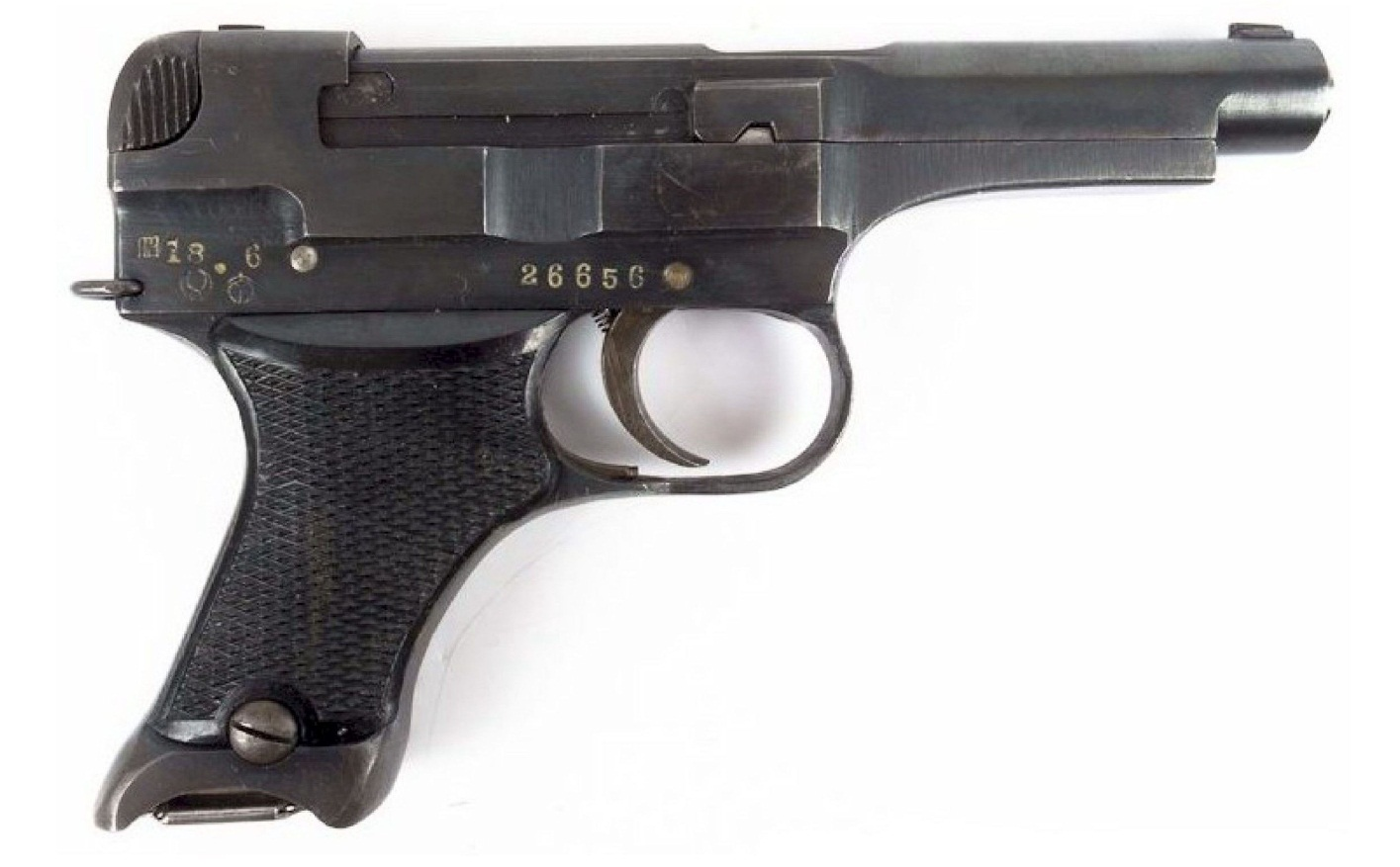 Japanese Nambu Type 94 Pistol off-date fourth variation