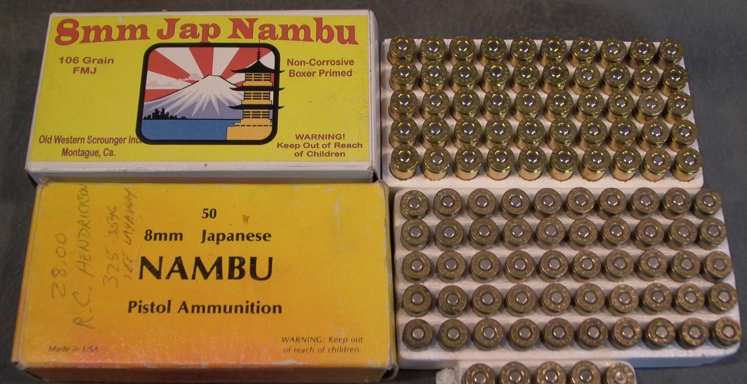 Cartridge 8mm for Nambu