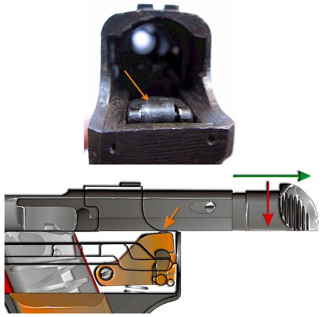 disassemble Japanese Type 94 Nambu pistol