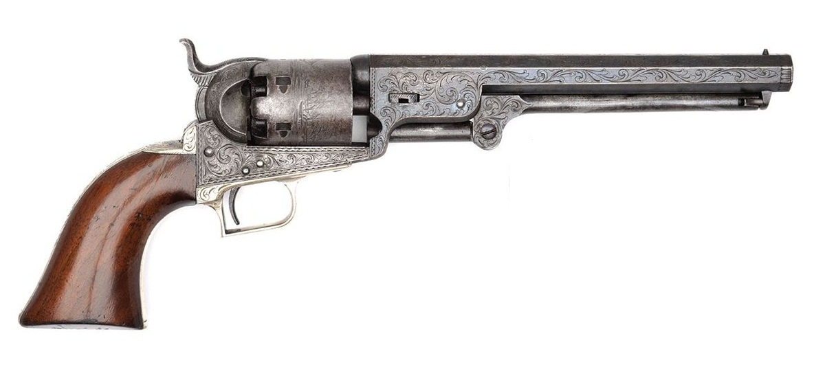 Colt Model 1851 Navy Revolver First Model Squareback