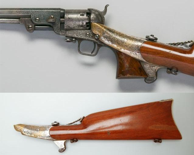 Colt 1851 Navy shoulder stock