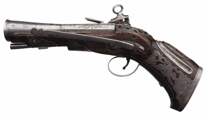 Spanish Miquelet Blunderbuss Pistol