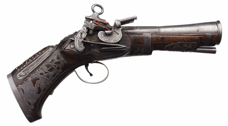 Miquelet Blunderbuss Pistol