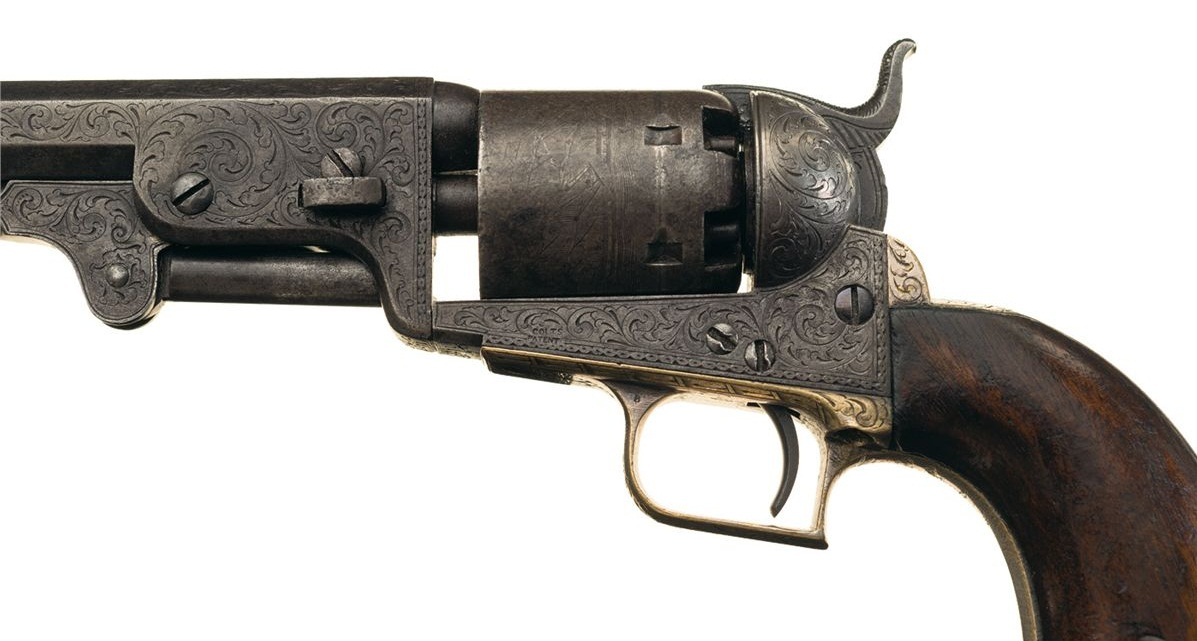 Second Model 1851 Navy Revolver