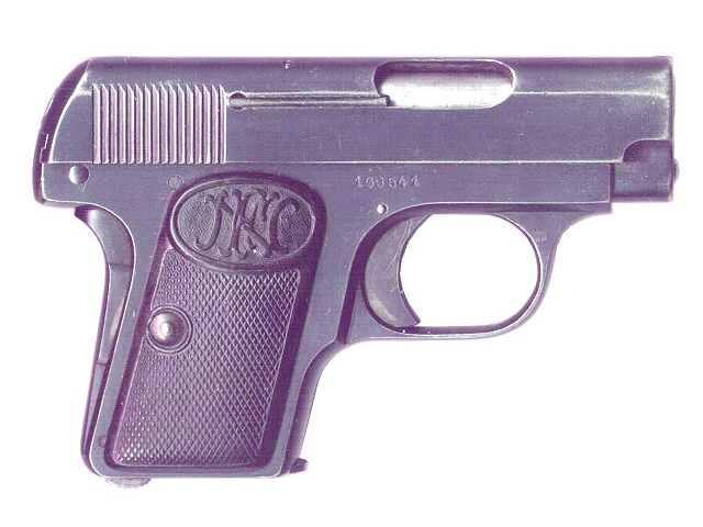 FN Browning M 1906 Pistol second variation