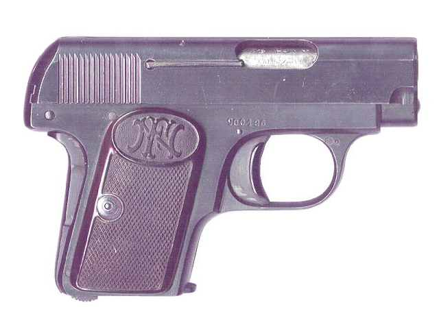 FN Browning M 1906 Pistol third variation