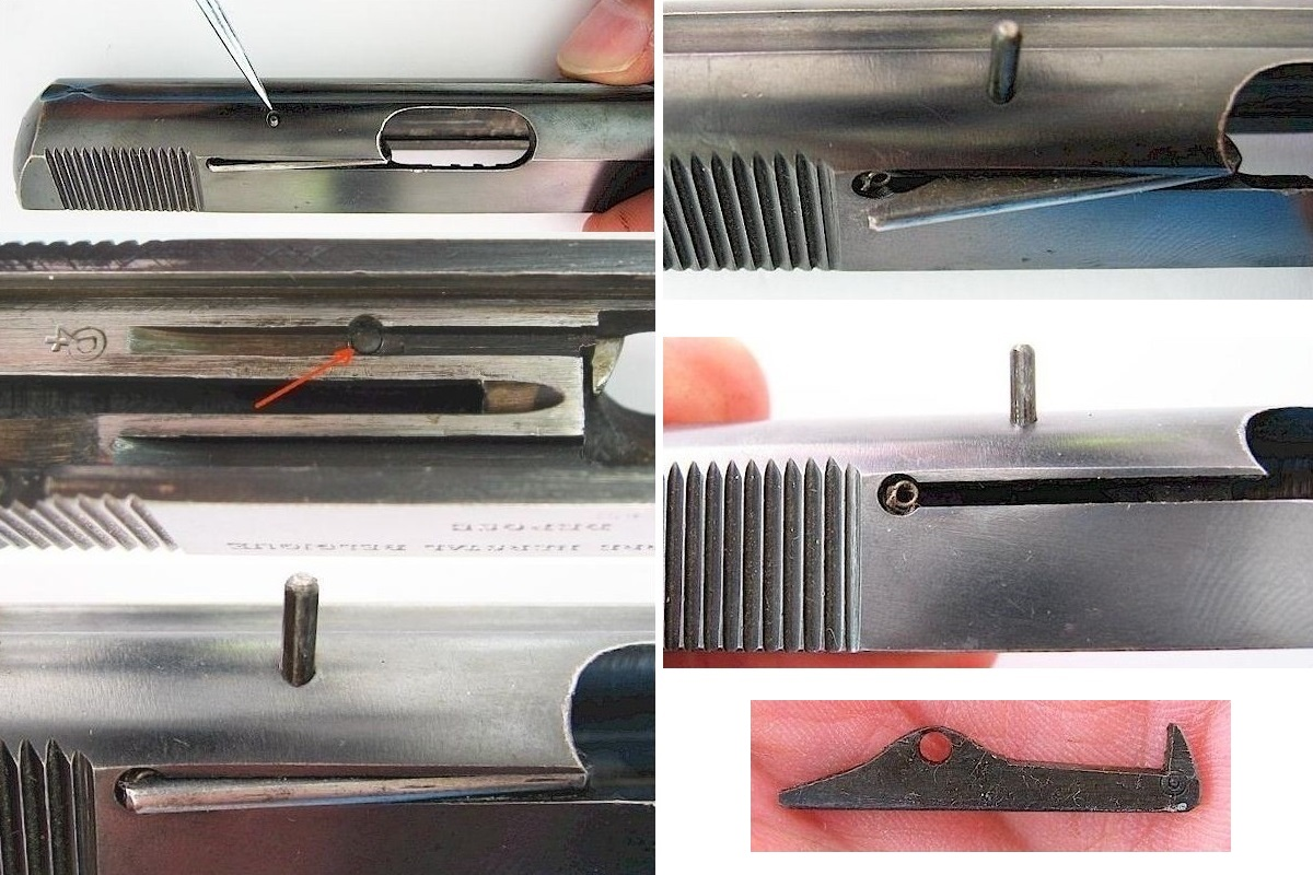Disassemble FN Browning M 1906