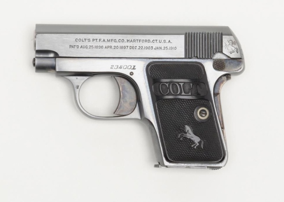 Colt Model 1908 Vest Pocket Hammerless .25 ACP