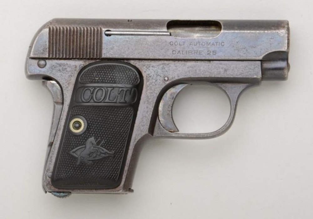 Colt 1908 Vest Pocket with Type I standard grips