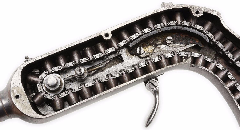 Игольчатый цепной пистолет Гайкота (кликните по изображению, чтобы увидеть фото полного размера)