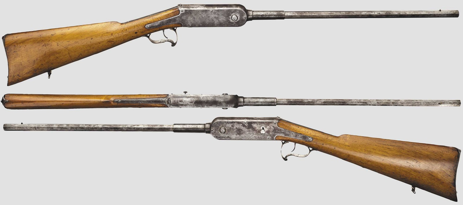 French Guycot Chain Rifle