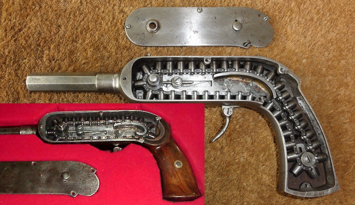 French Guycot Chain Pistol