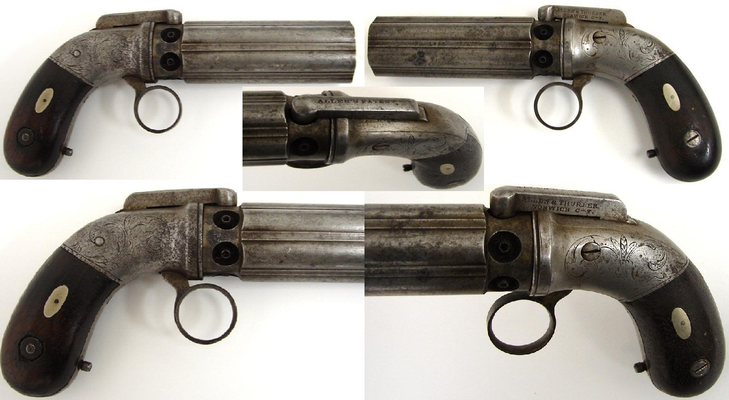 Pepperbox Allen & Thurber Norwich ring trigger