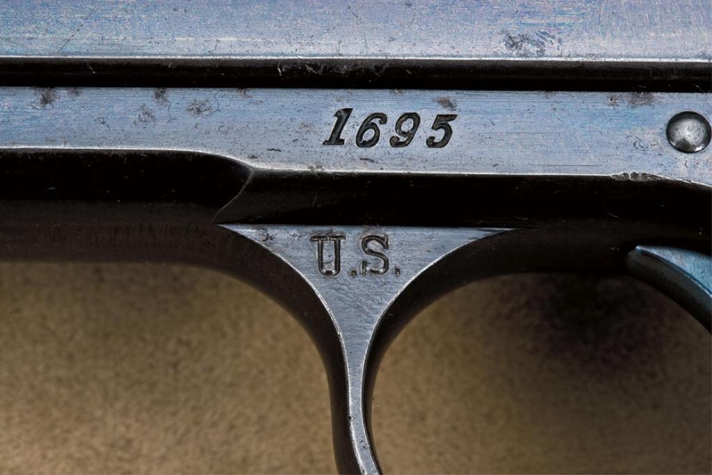 Пистолет Кольт Модель 1900 года Второй военный контракт