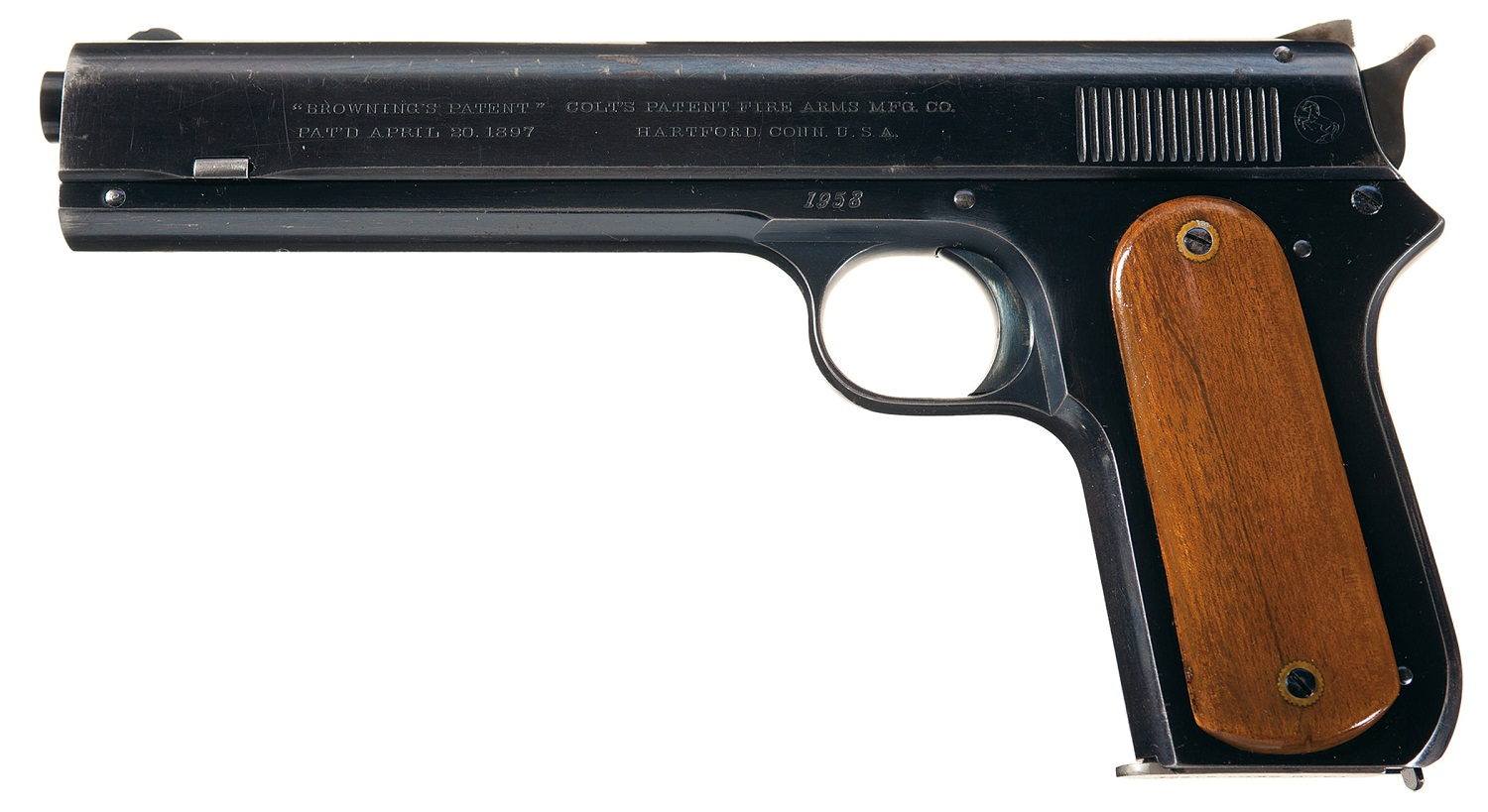 The Colt Model 1900