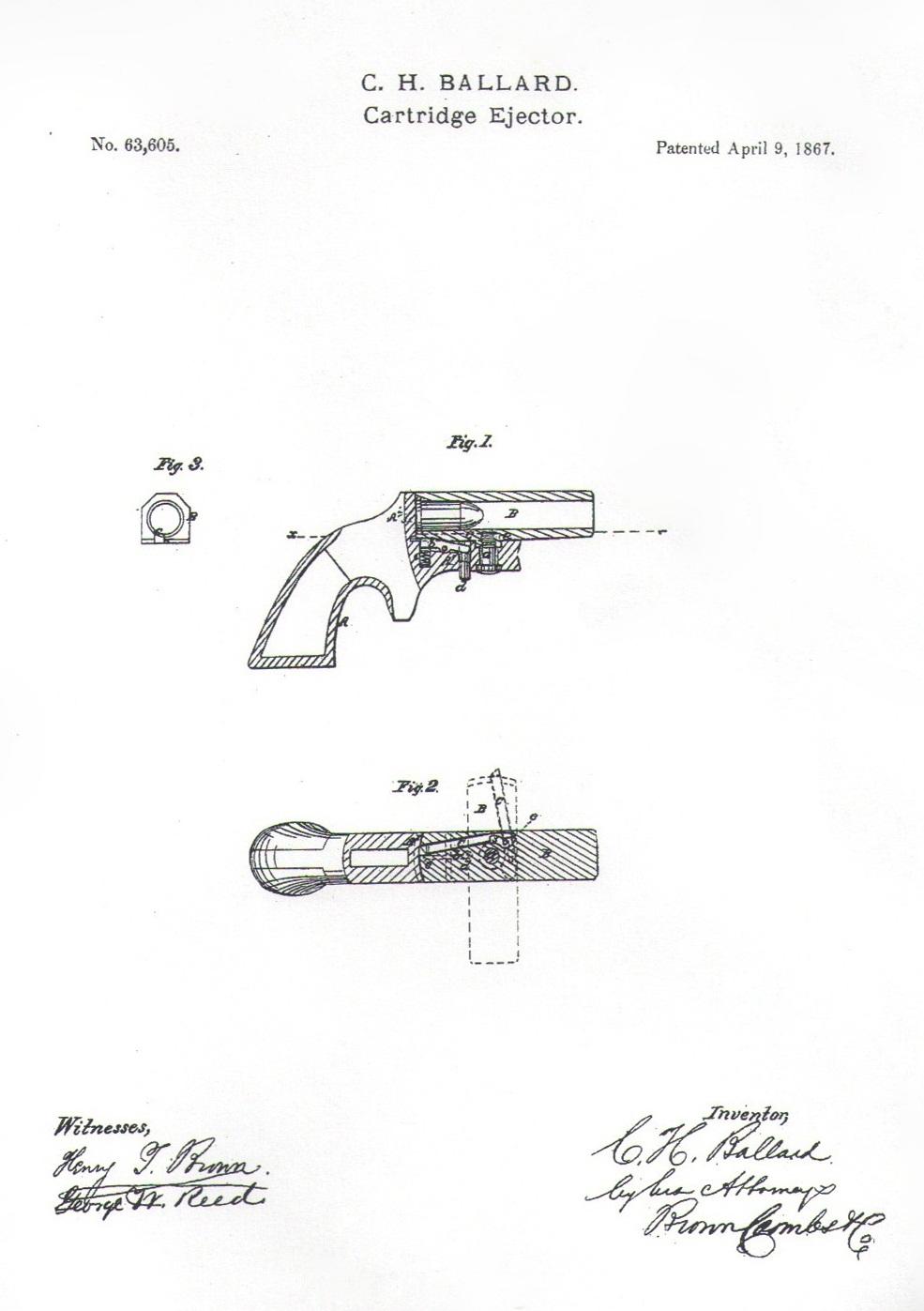Patent Southerner Derringer