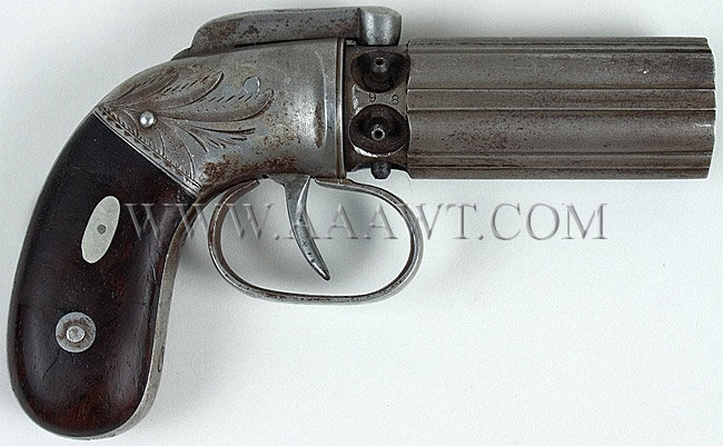 Allen & Thurber pepperbox - Dainty or small pocet size