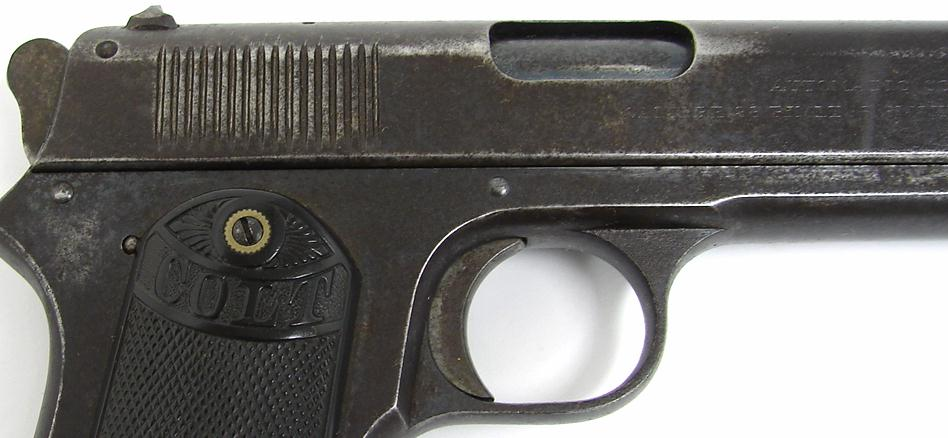 Early 1903 Colt .38 Automatic Pocket Model