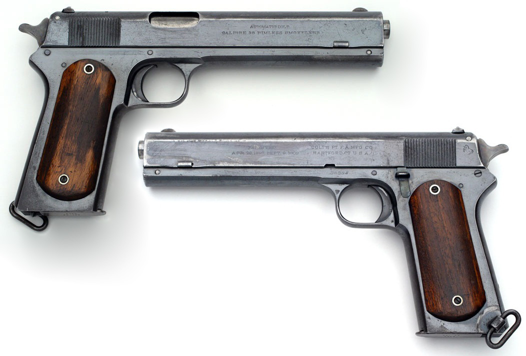 Colt Model 1902 Military smooth walnut stocks