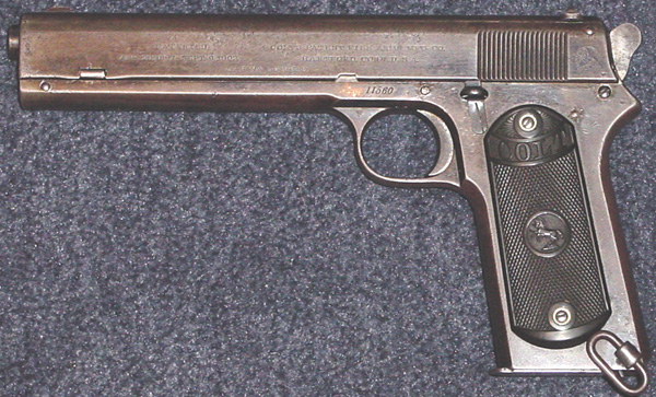 Colt Model 1902 Military for use by the Chilean Navy