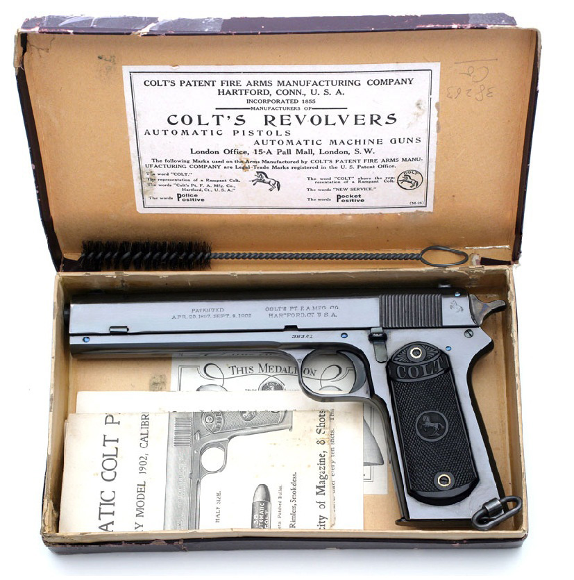 Colt Model 1902 Military with factory box