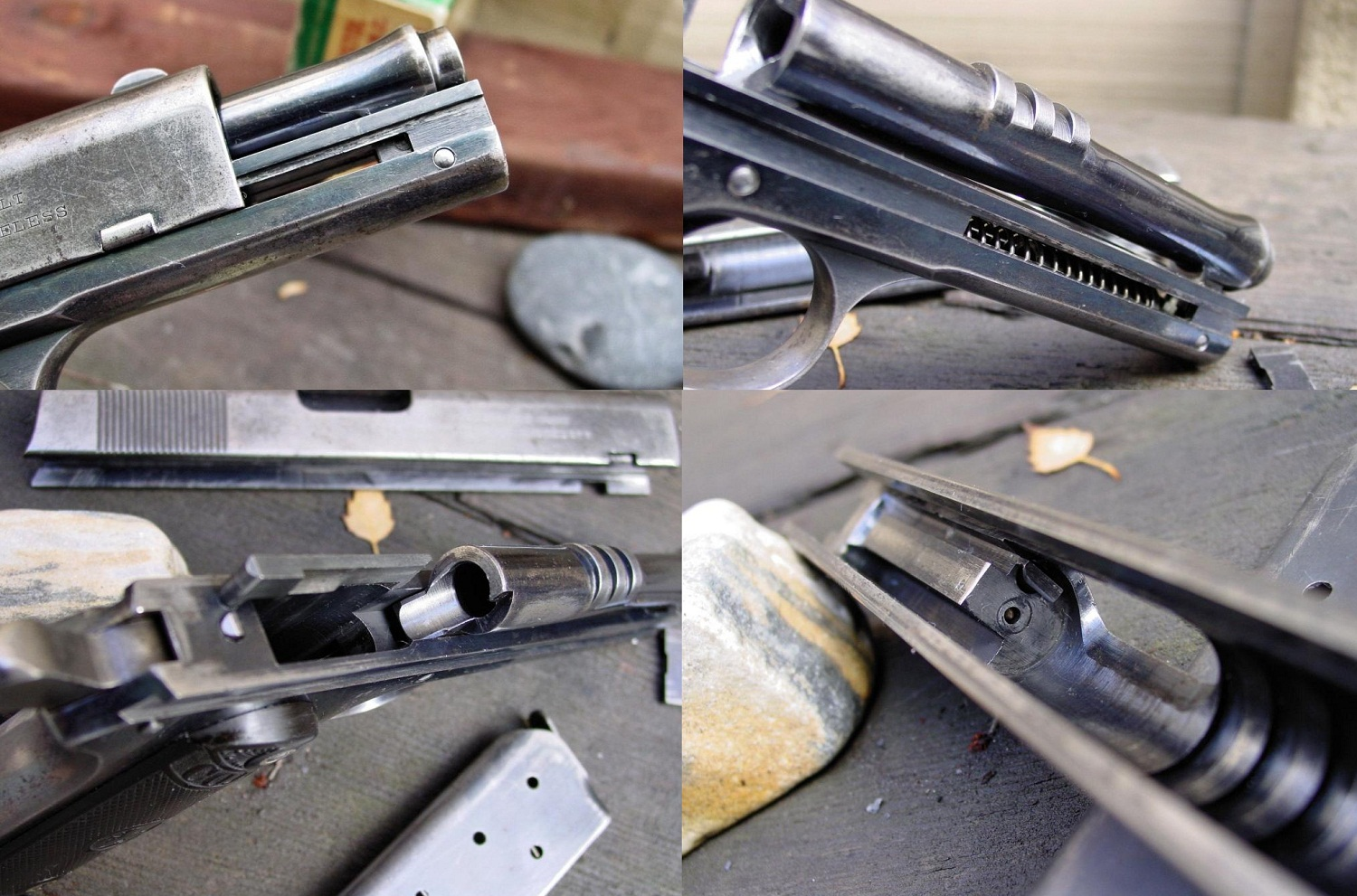 1903 Colt .38 Automatic Pocket Model Disassembly