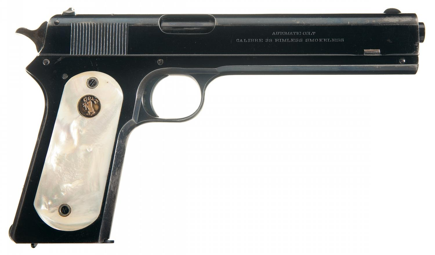 Colt Model 1902 Military factory pearl grips