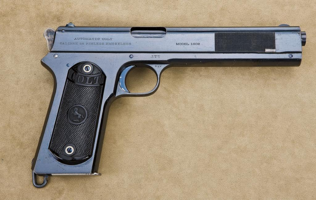 Military contract Colt Model 1902 Military