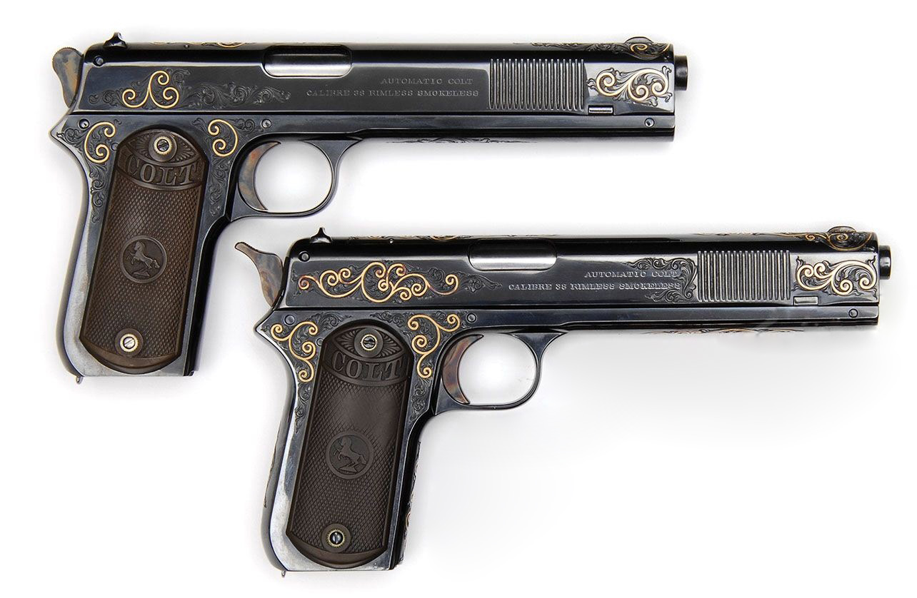 Colt Model 1902 Sporting Egraved