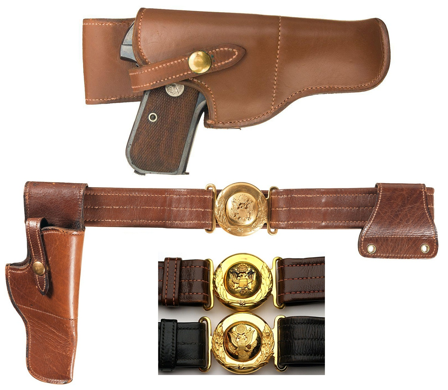 1903 Colt Hammerless Pocket Model Holster