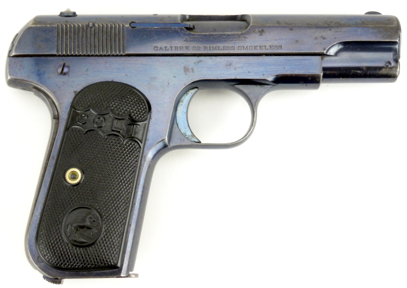 Colt Model 1903 Pocket Hammerless Second Variant