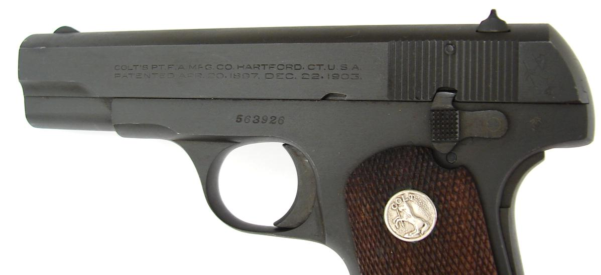 Colt Model 1903 Pocket Hammerless Five Variant