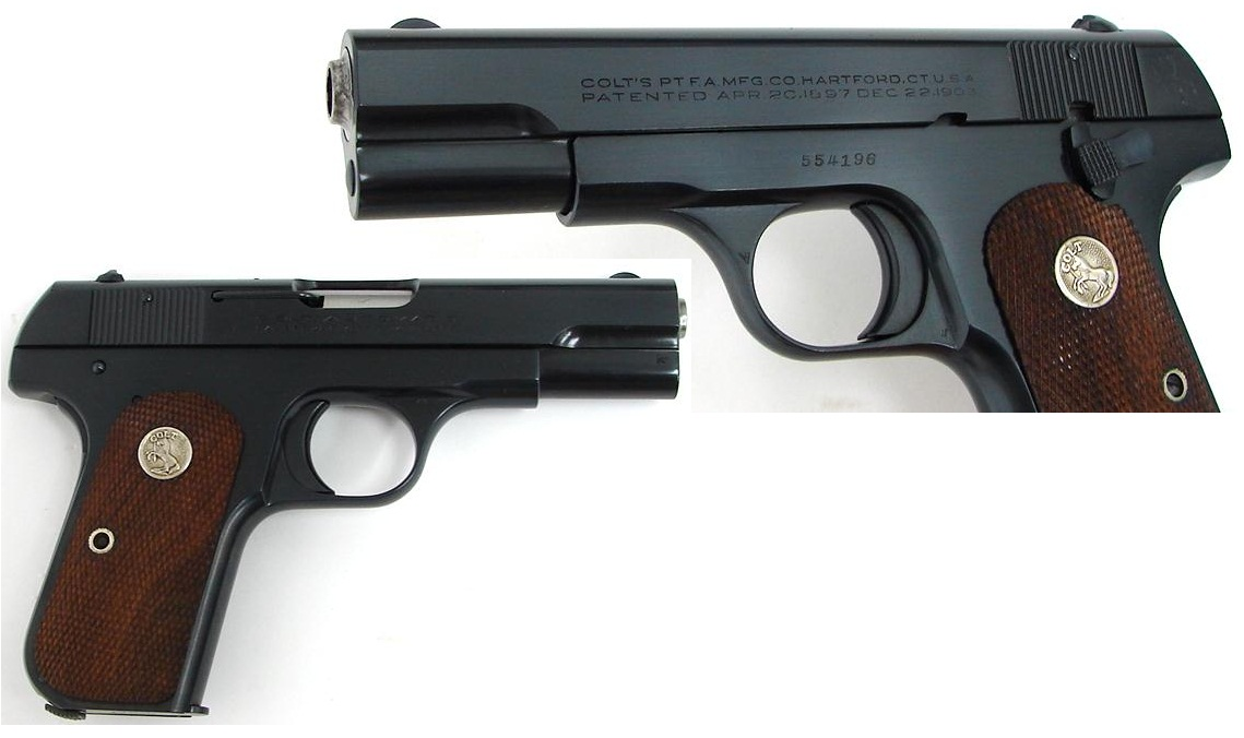 Colt Model 1903 Pocket Hammerless Fifth Variant