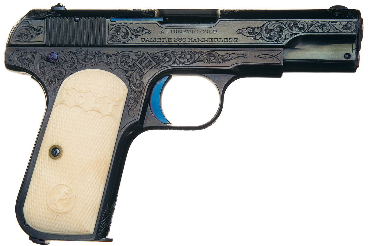 1908 Colt Hammerless Pocket Model Calibre 380