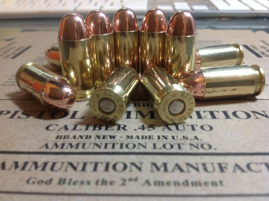 cartridge .45 ACP Colt Model 1905 Military