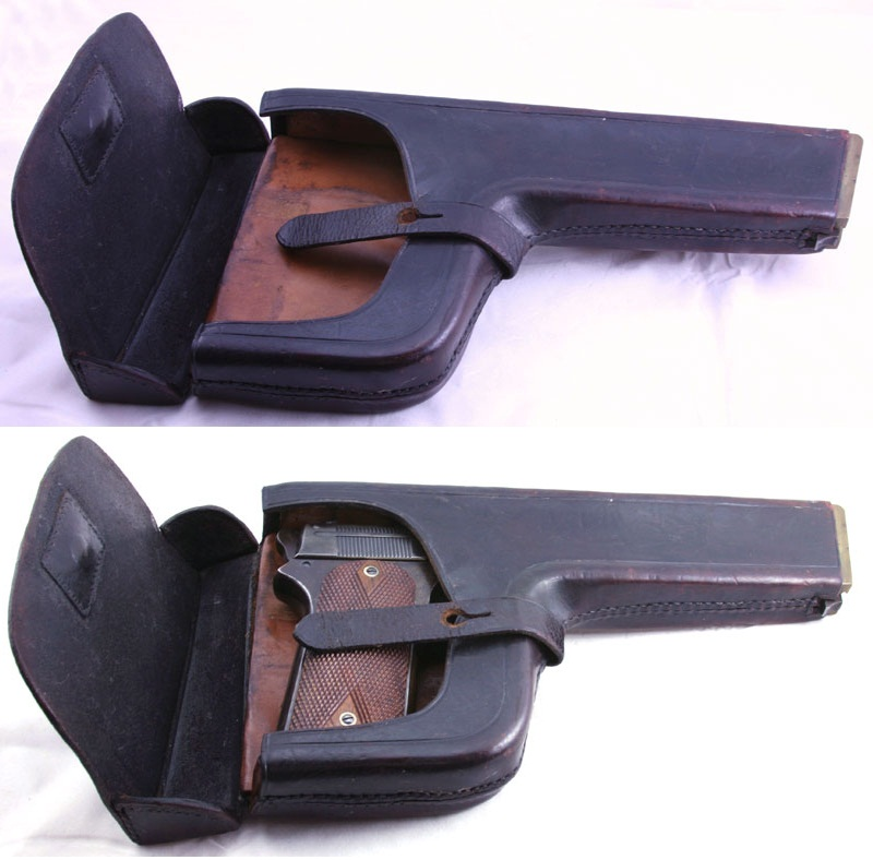 Holster/shoulder stock Colt Model 1905 Military .45 ACP