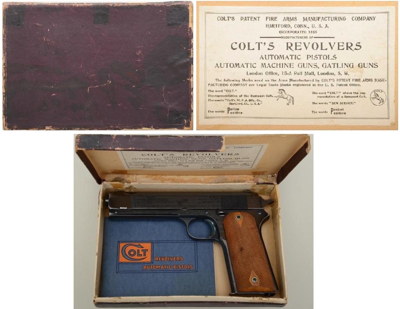 Factory Box Colt Model 1905 Military .45 ACP
