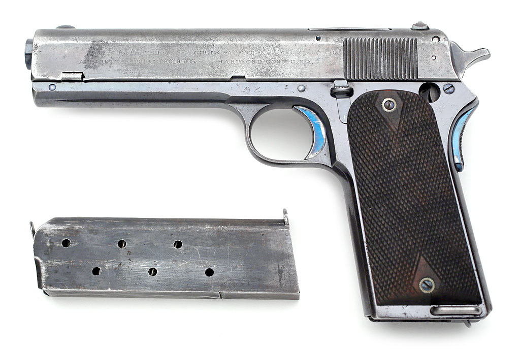 Colt Model 1907 .45 ACP First Variation