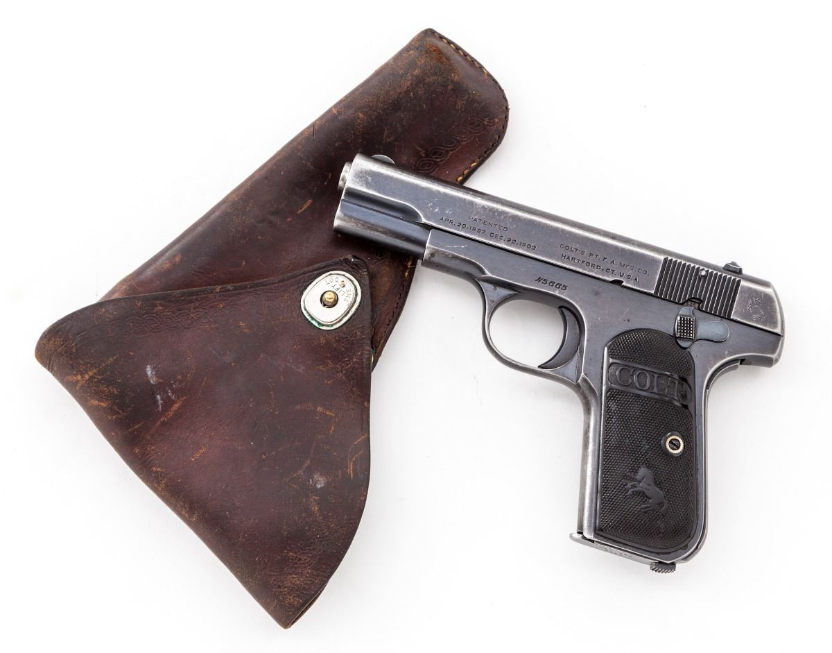 1908 Colt Hammerless Pocket Model Holster