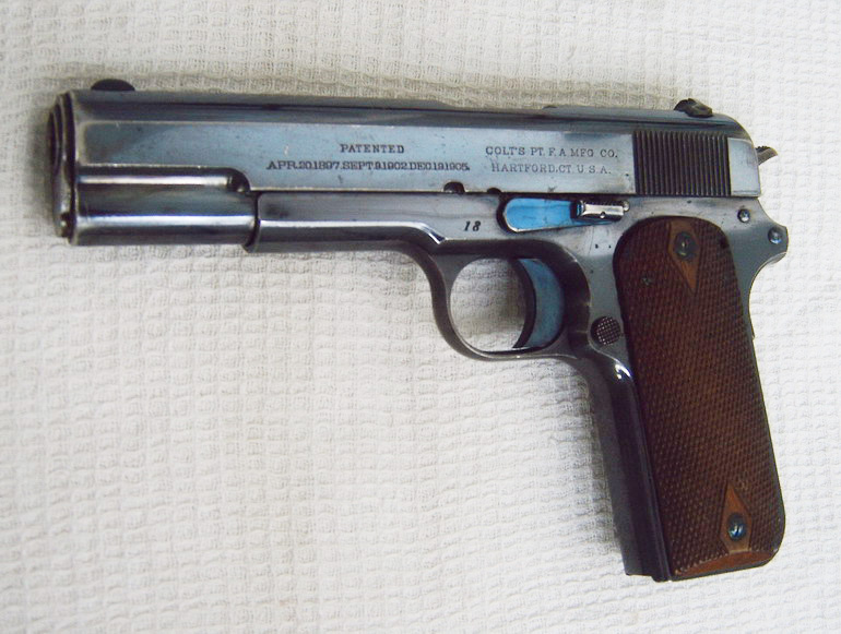 Colt Model 1909 Automatic Pistol