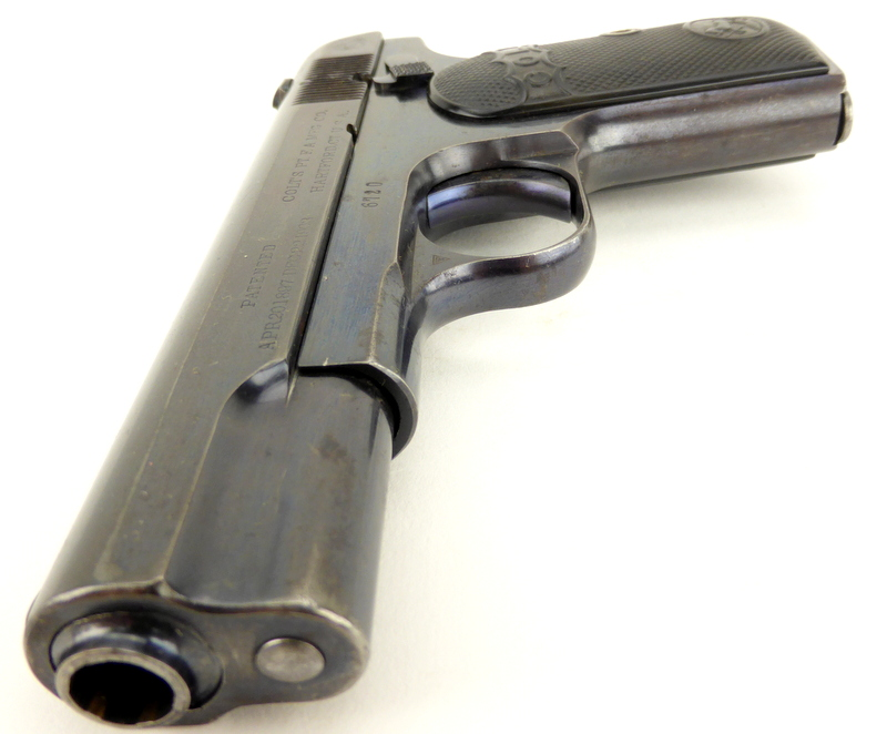1908 Colt Hammerless Pocket Model Type III variation
