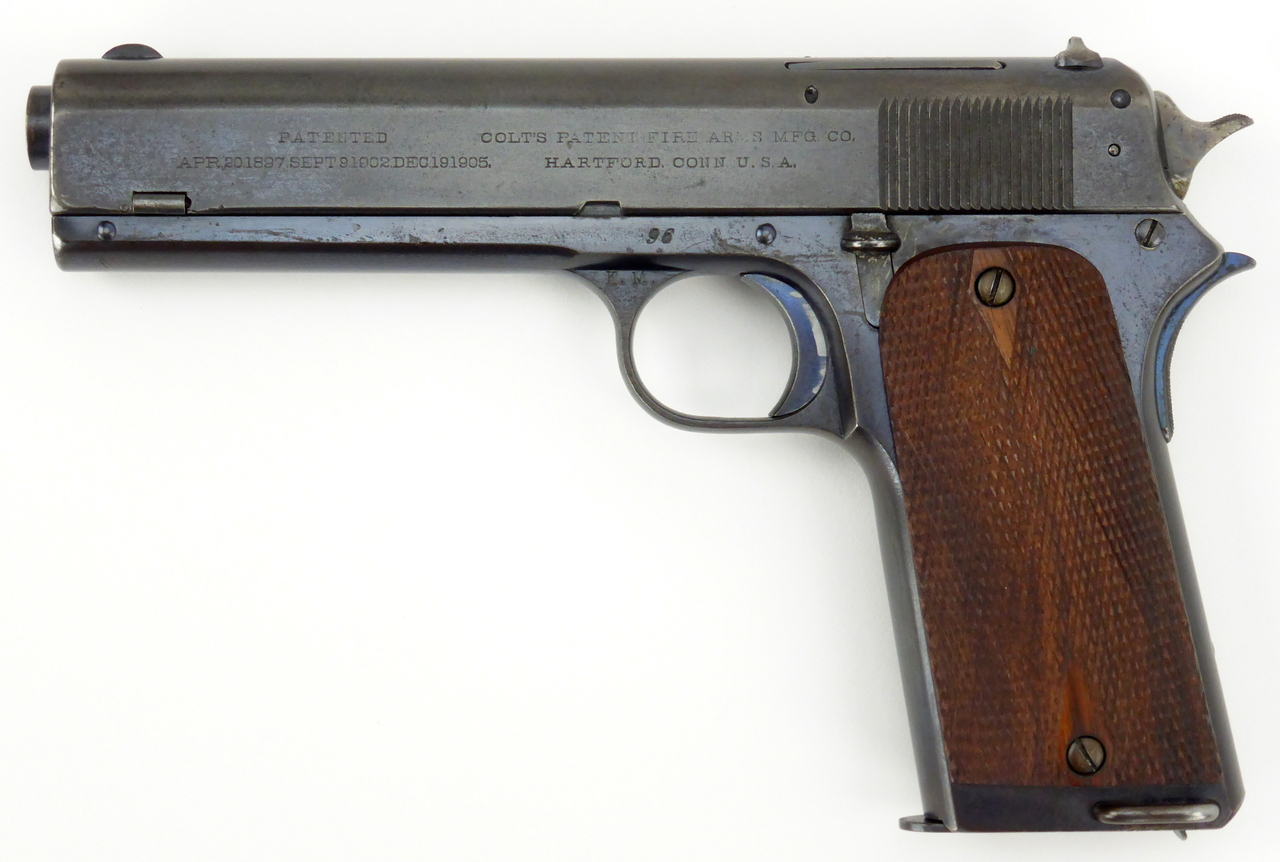 Colt Model 1907 .45 ACP Second Variation