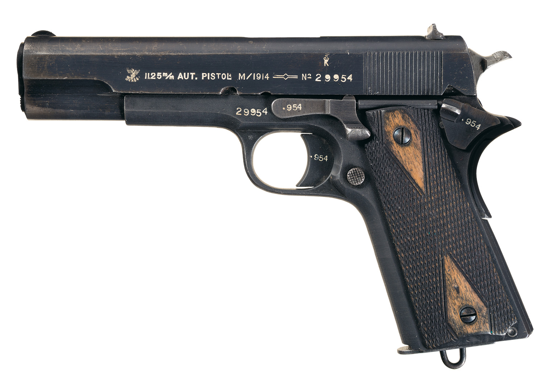 Kongsberg M1914 (Pistole 657n)