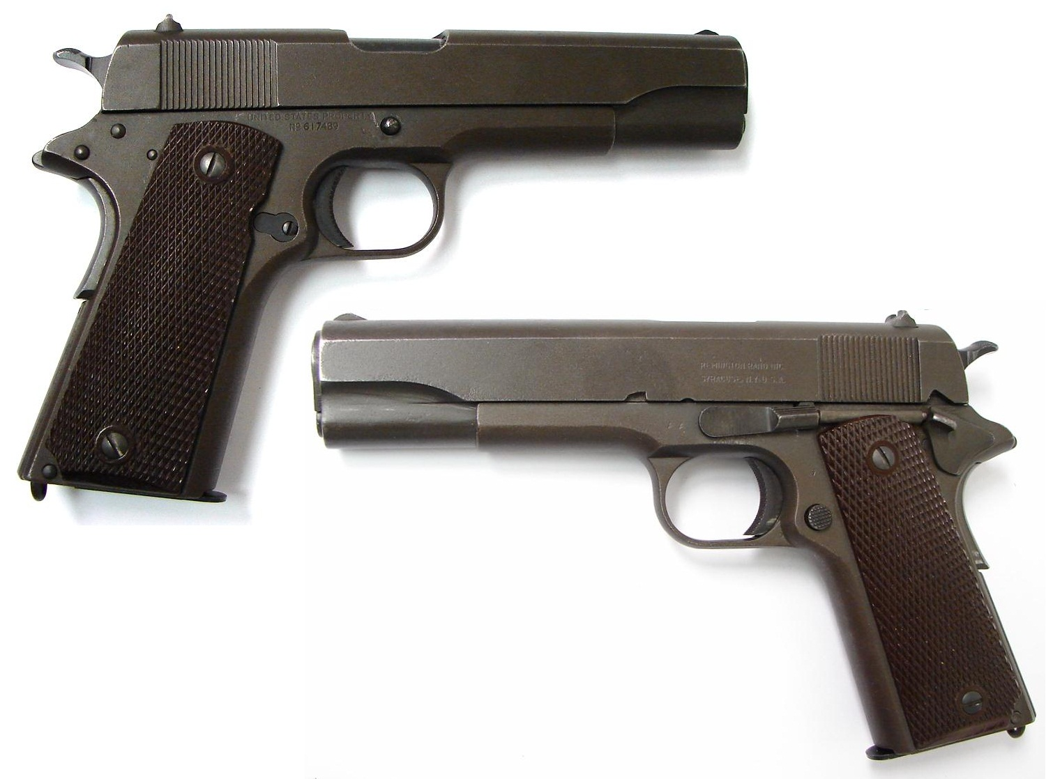 Remington Rand Model 1911 Semi-Automatic Pistol