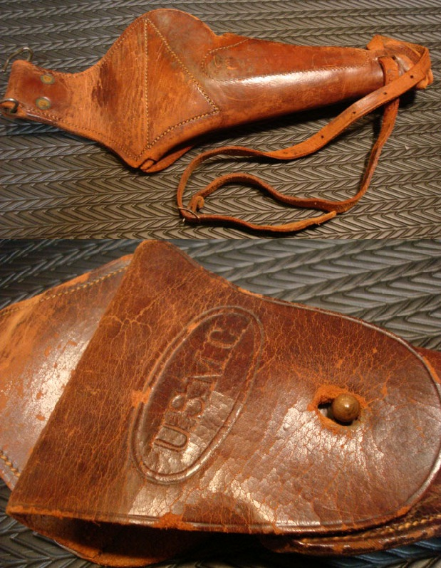 USMC marked holster which accompanied the USMC Colt Model 1911