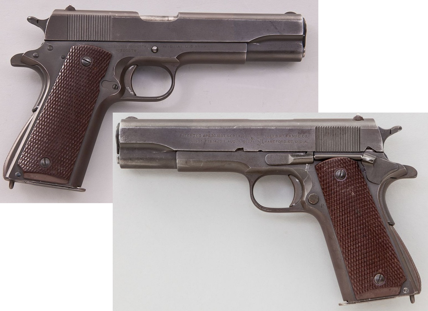 US Navy Colt Model 1911-A1 Semi-Automatic Pistol